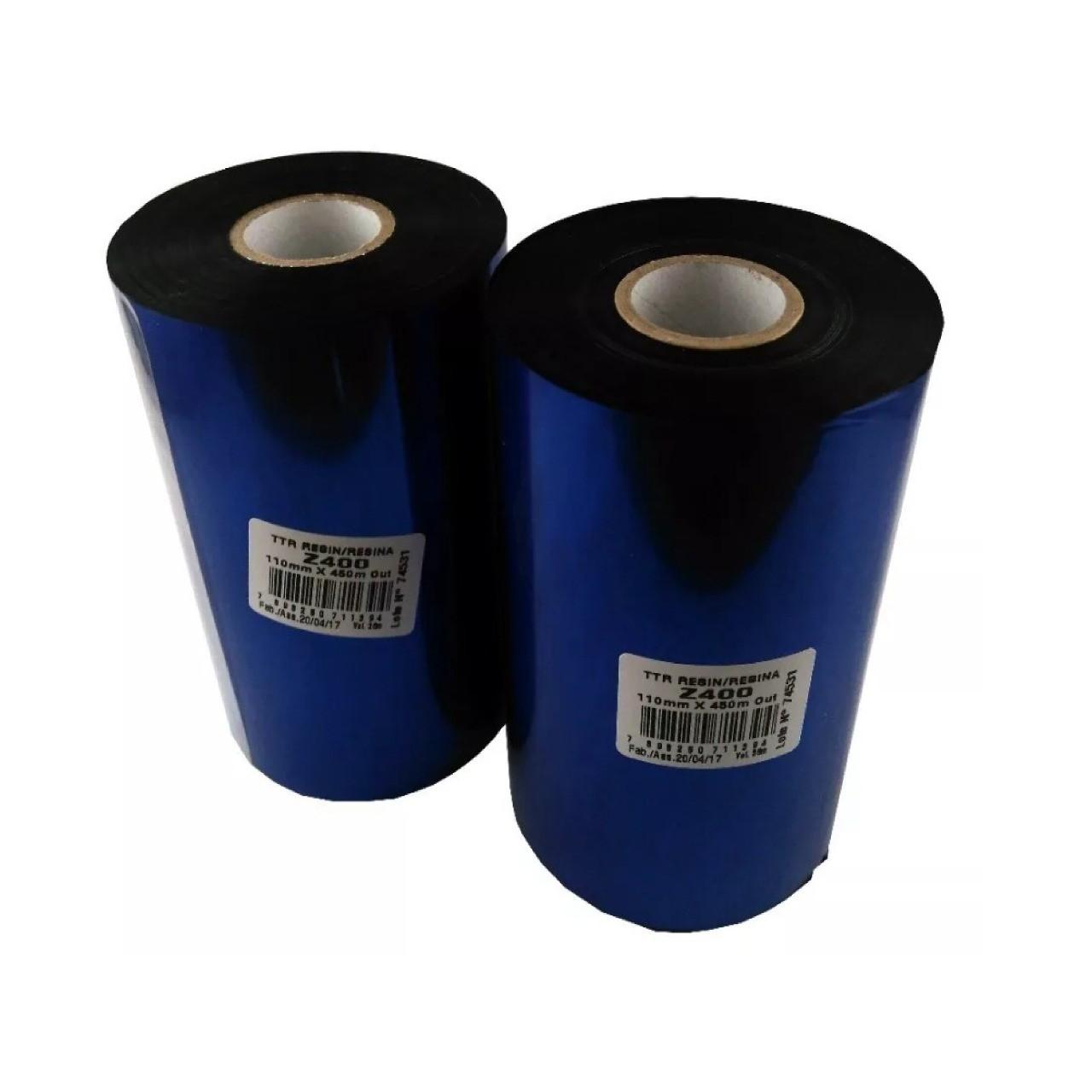 10 Rolos | Ribbon Resina Z400 110X450