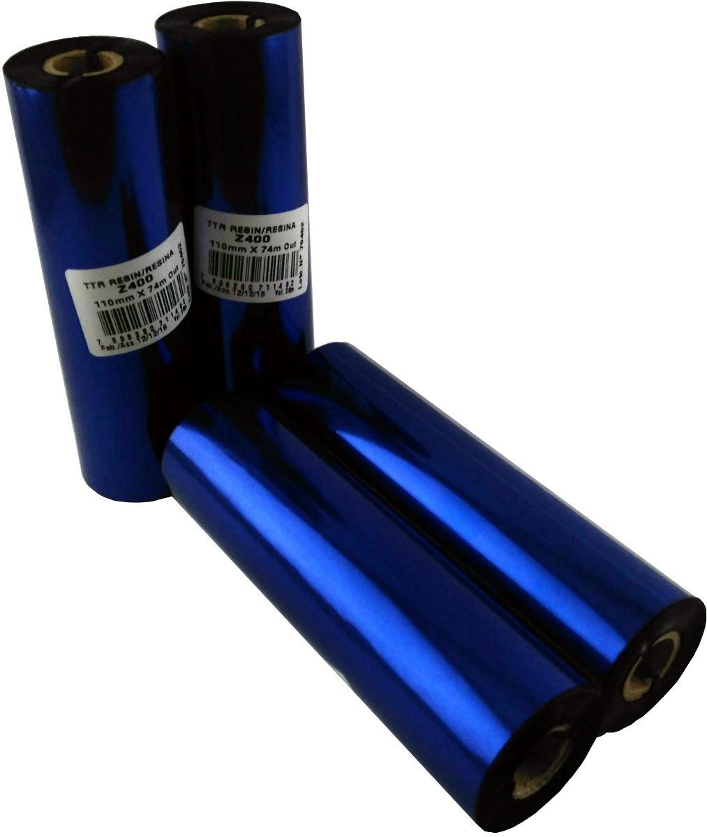10 Rolos | Ribbon Resina Z400 110X74