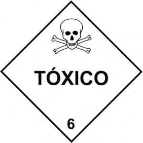 Etiqueta Simbologia Meio Ambiente Substancia Tóxico