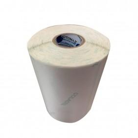 Kit 10 Rolos de Etiqueta Térmica 40X25 2 Colunas Branca | Mercado Full