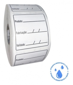 Kit 1 Etiqueta Anvisa Congelamento + 1 Lacre Delivery