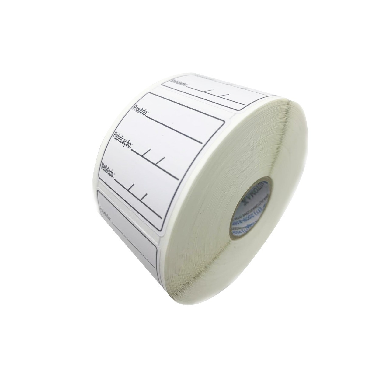 48 Rolos Etiqueta Adesiva Couche 40x40 | Anvisa para Alimentos Manipulados
