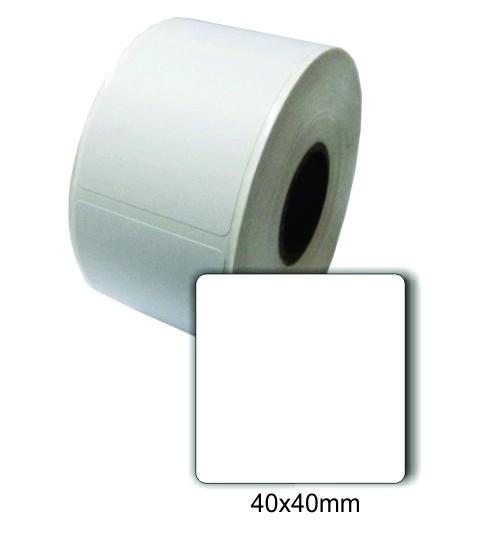 Caixa com 72 Rolos de Etiqueta Térmica 40X40 Balança