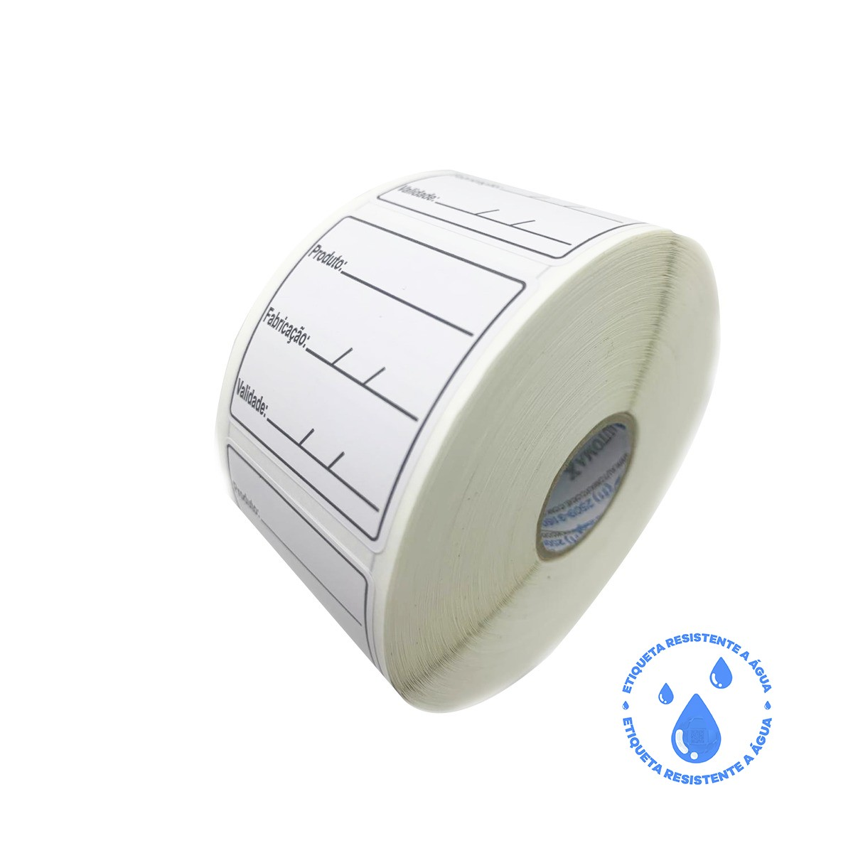 Etiqueta Adesiva BOPP 40x40 | Anvisa para Alimentos Manipulados
