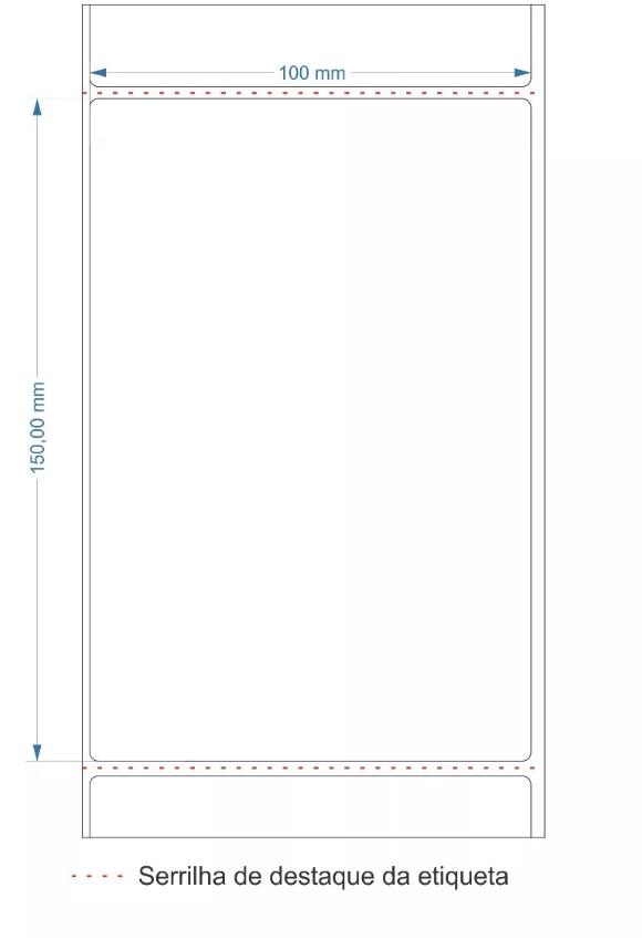 Etiqueta Couche 10x15cm | 100mmX150mm