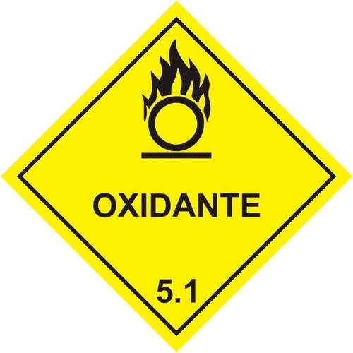 Etiqueta Simbologia Meio Ambiente Substancia Oxidante