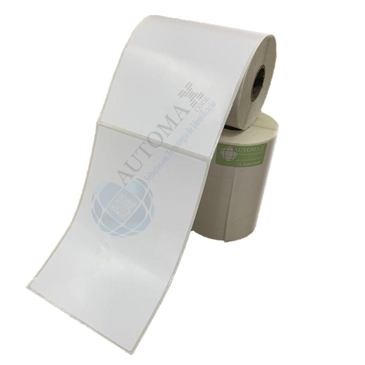 Kit 10 Rolos de Etiqueta Couche 10x15 cm + 5 Rolos de Ribbon