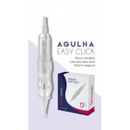 Agulha Easy Click com Rosca 1 Ponta Micro 20mm - Dermocamp
