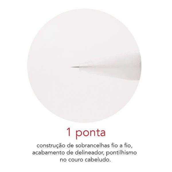 Agulha Dermomag de Rosca 1 Ponta