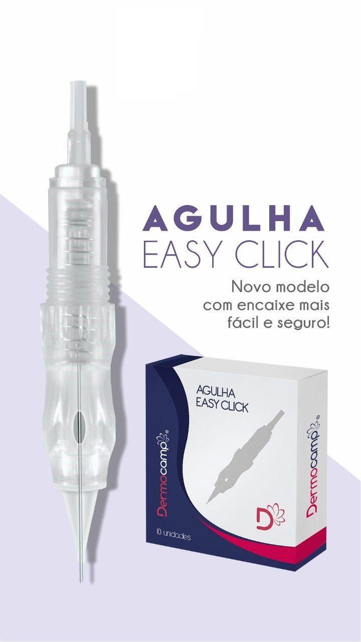 Agulha Easy Click de Rosca 3 Pontas