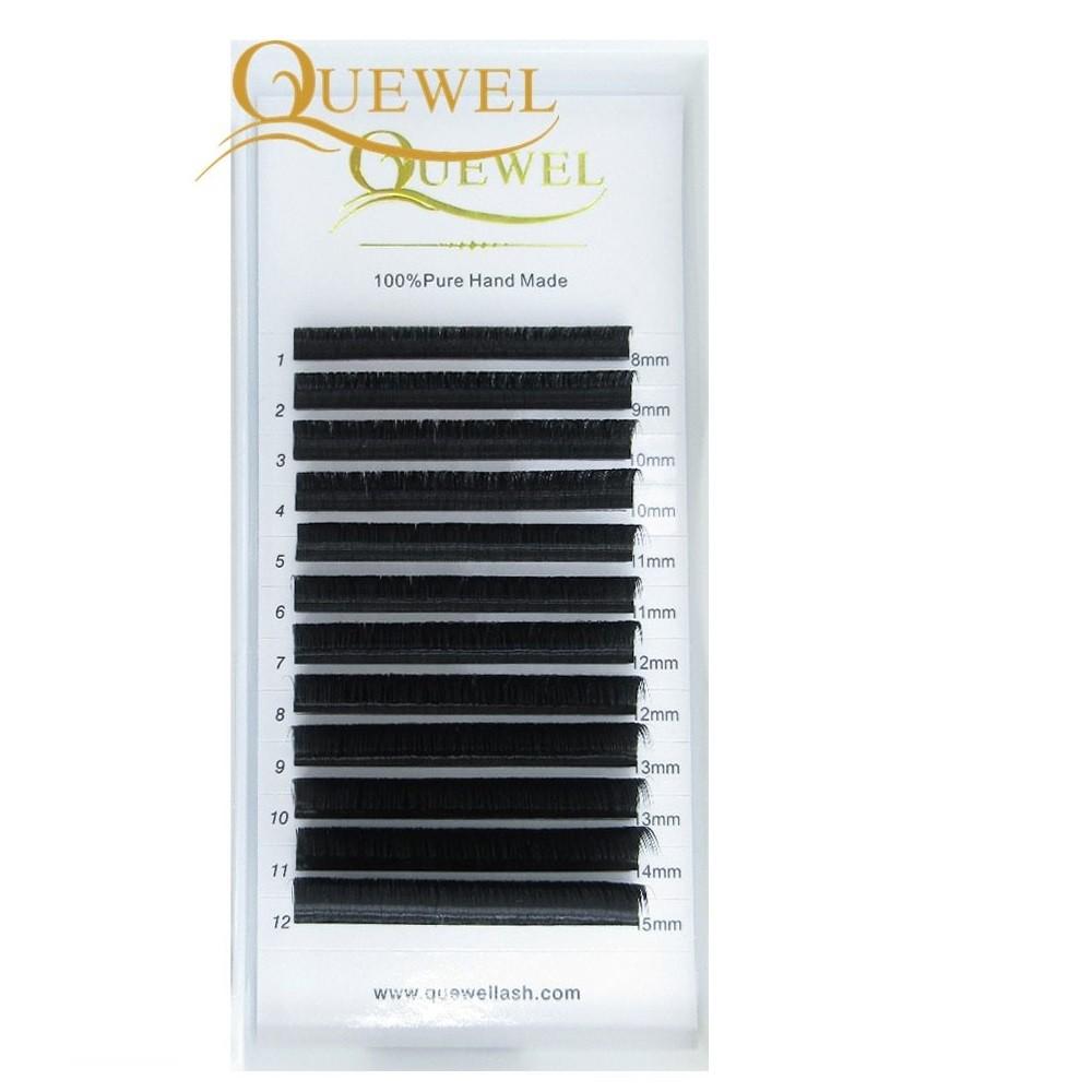 Cílios Fio a Fio Quewell Mix de 8mm a 15mm - 0.07 C