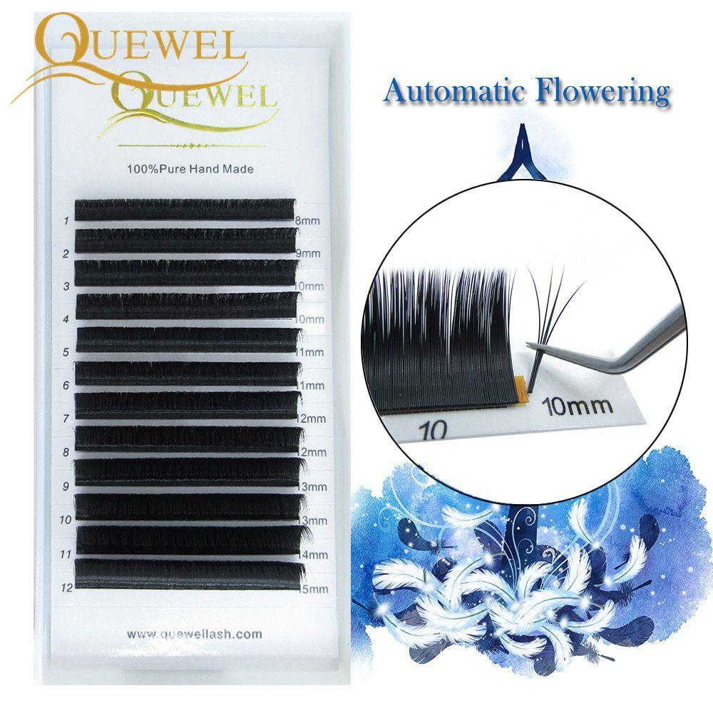 Cílios Fio a Fio Quewell Mix de 8mm a 15mm - 0.20 C
