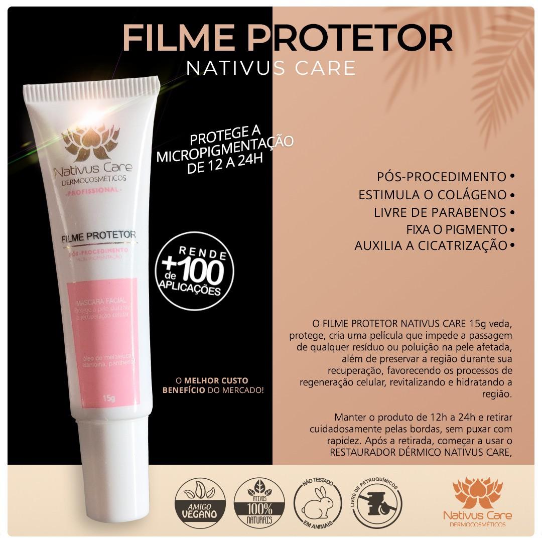 Filme Película Protetora Nativus Care 15g