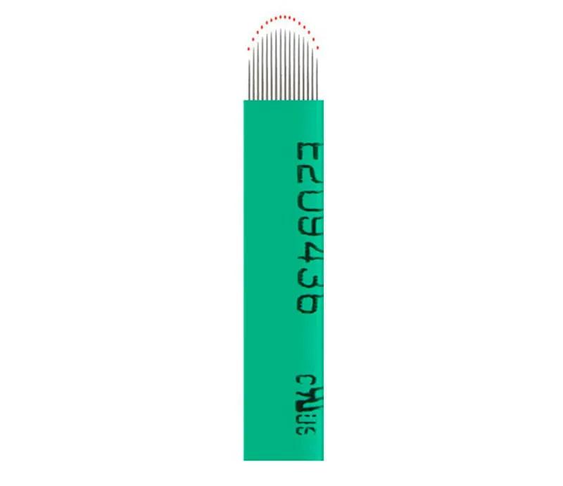 Lâmina Importada Descartável para Tebori - 18 U Nano Curve