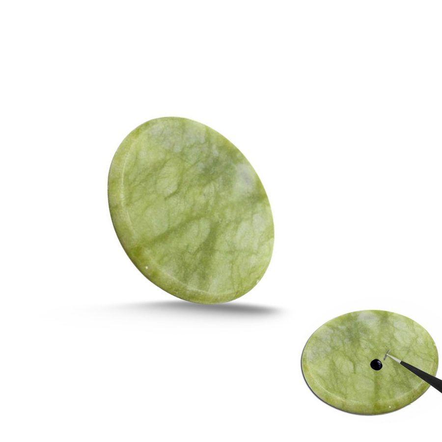 Pedra Jade para Extensão de Cílios
