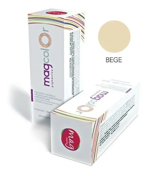 Pigmento Mag Color Bege 15ml