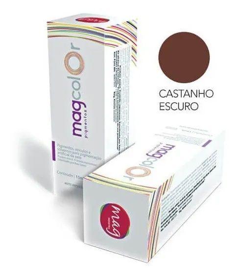 Pigmento Mag Color Castanho Escuro 15ml
