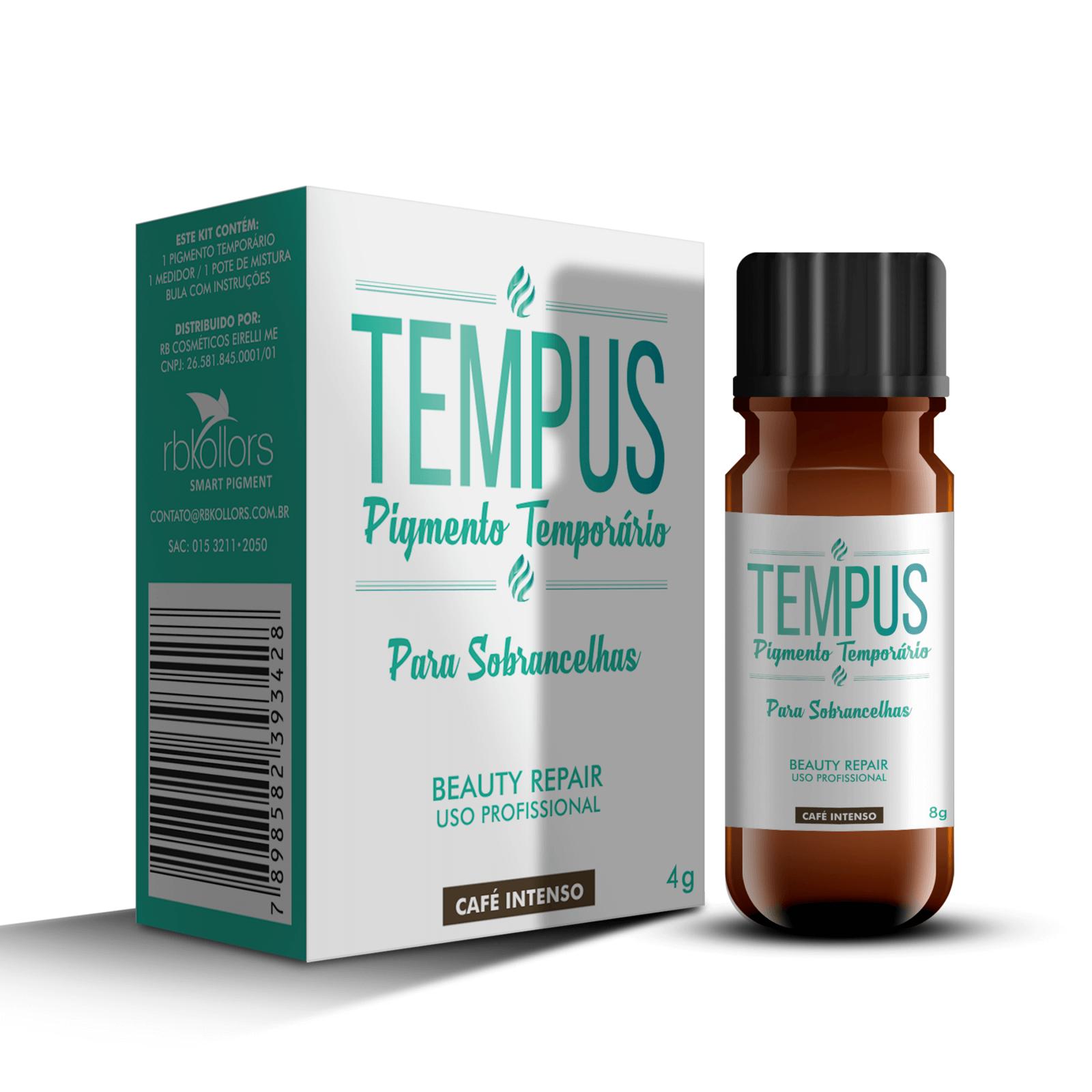 Pigmento Temporário Rb Kollors Tempus Café Intenso 4g
