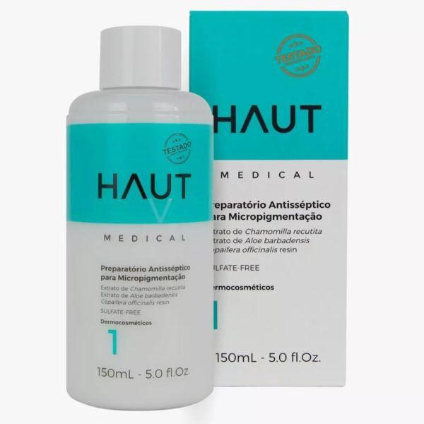 Preparatório Antisséptico para Micropigmentação Haut Medical Passo 1 - 150ml