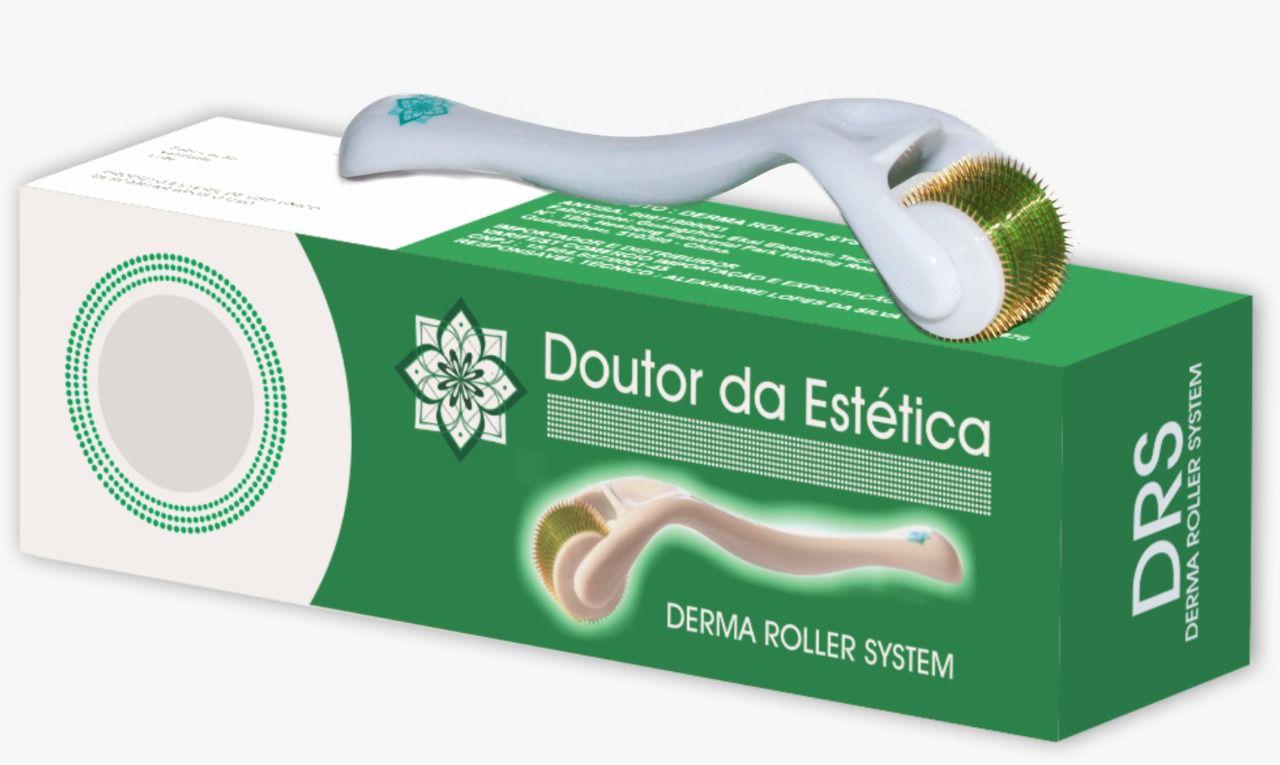 DermaRoller System 0,5mm Com 540 Agulhas - Doutor Da Estética