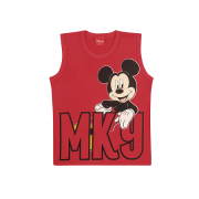 Camiseta Infantil Mickey Mouse  Turma do Mickey Walt Disney