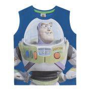 Camiseta Regata Infantil Toy Story Buzz Lightyear Tam 3