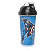 Garrafa Shakeira Capitão América Vingadores Avengers