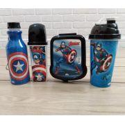 Kit Utilidades Capitão América Vingadores Avengers