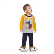 Pijama Infantil Menino Cavalinho Peças Lego