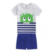 Pijama Infantil Menino Monstrinho Bilha no Escuro