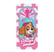 Toalha de Banho Infantil Felpuda Patrulha Canina Skye