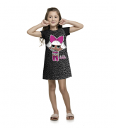 Vestido Infantil LOL Surprise