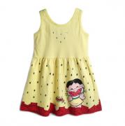 Vestido Infantil Menina Magali Turma da Mônica