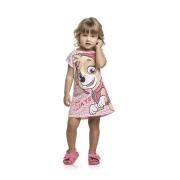 Vestido Infantil Menina Skye Patrulha Canina