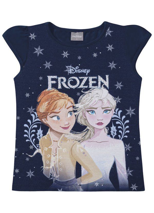 Blusa Infantil Menina Frozen