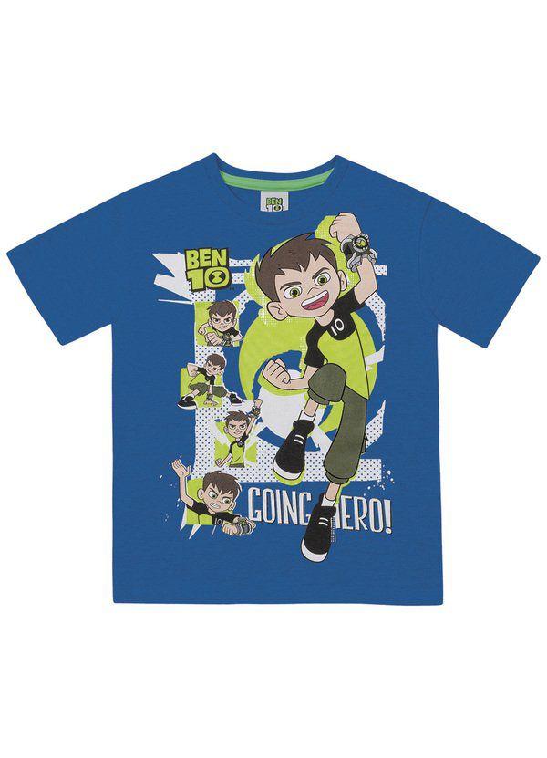 Camiseta Infantil Menino Ben 10
