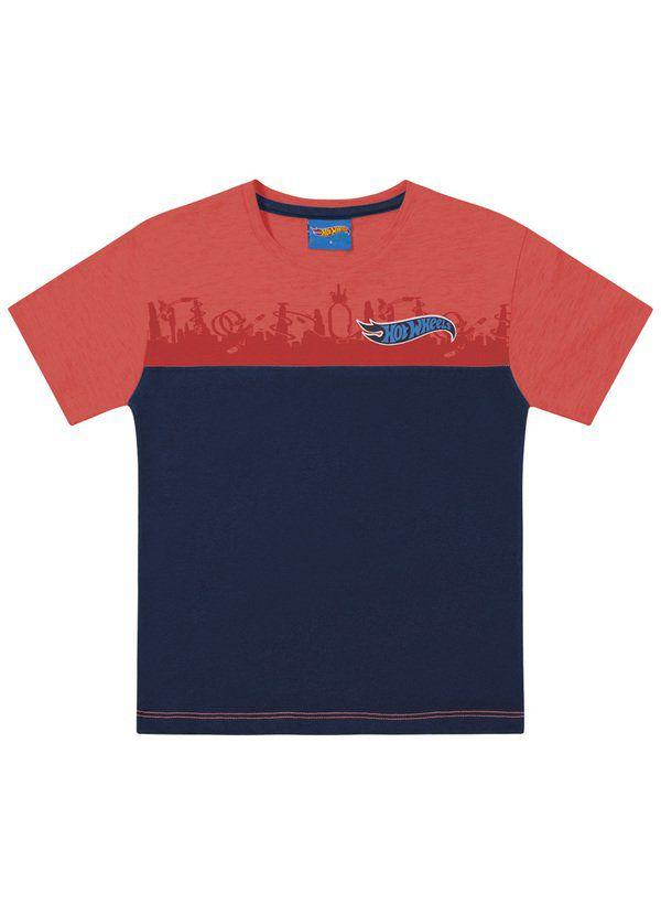 Camiseta Infantil Menino Hotwheels Tam 10