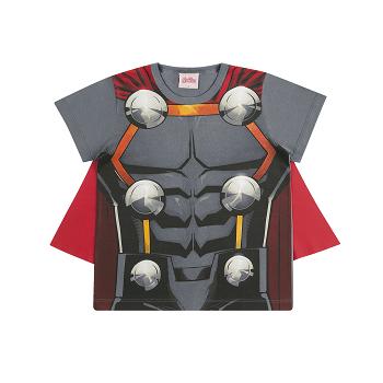 Camiseta Infantil Menino Thor Vingadores Avengers Marvel