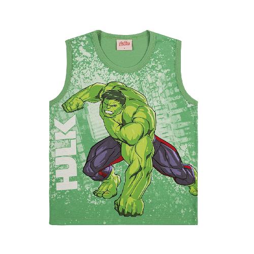 Camiseta Regata Hulk Vingadores