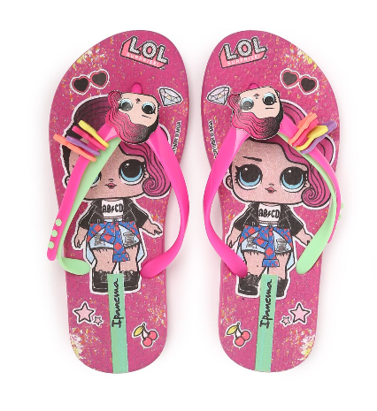 Chinelo Ipanema Infantil LOL Surprise