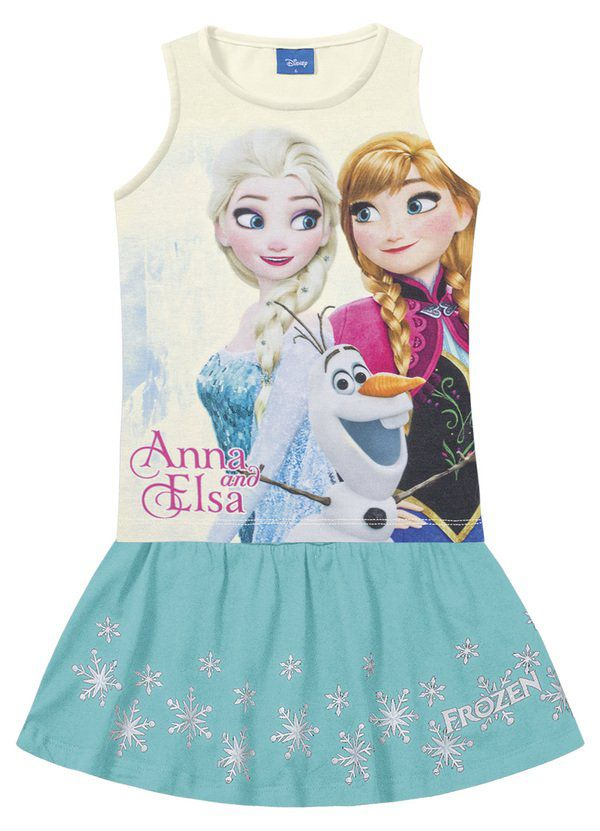 Conjunto Infantil Menina Frozen