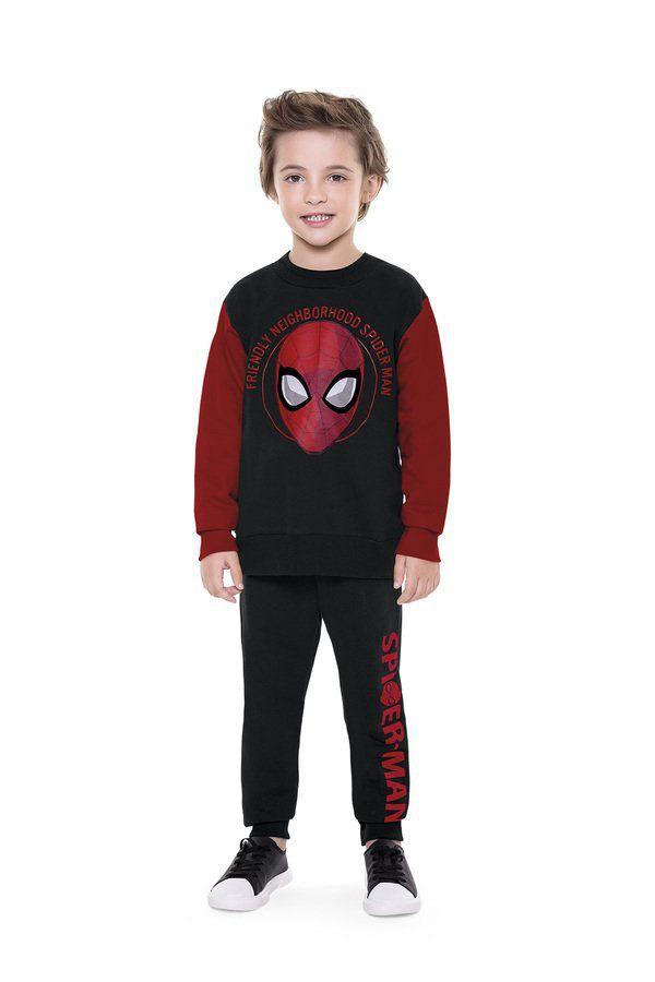Conjunto Infantil Menino Homem-Aranha