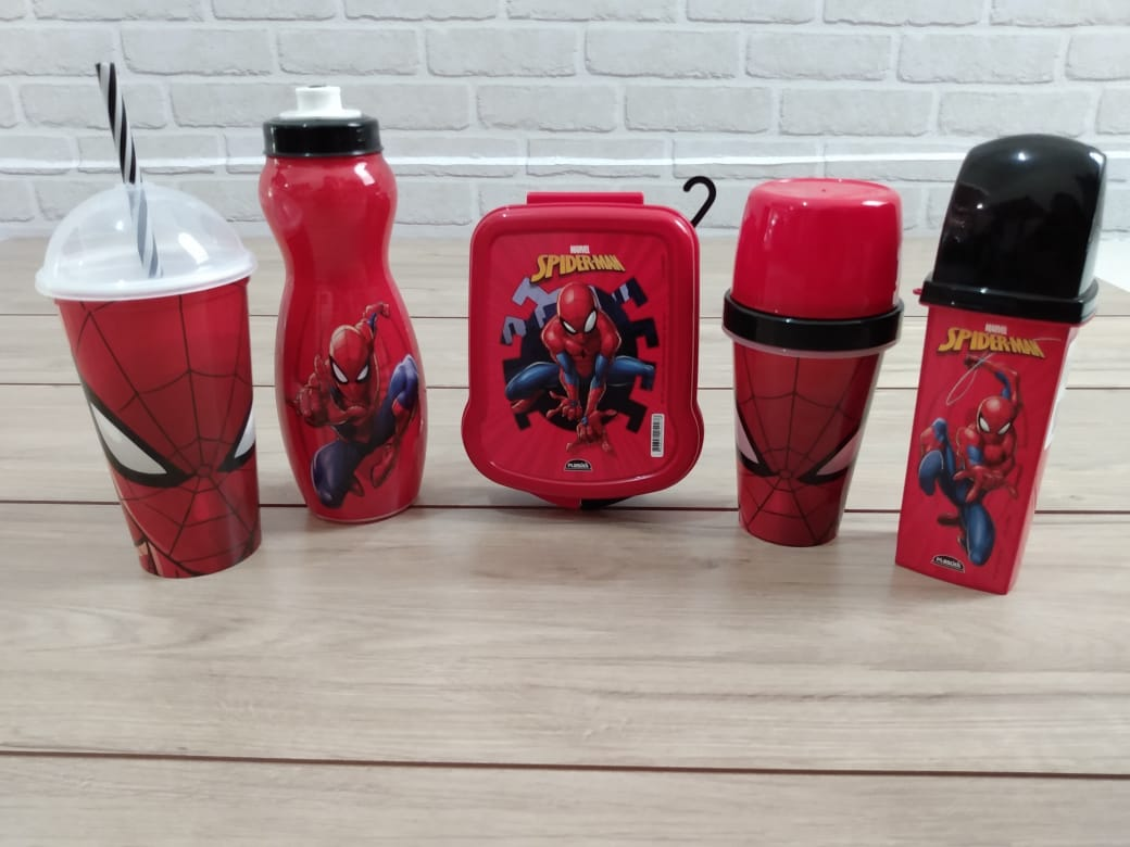 Kit Utilidades Homem-Aranha Spider Man