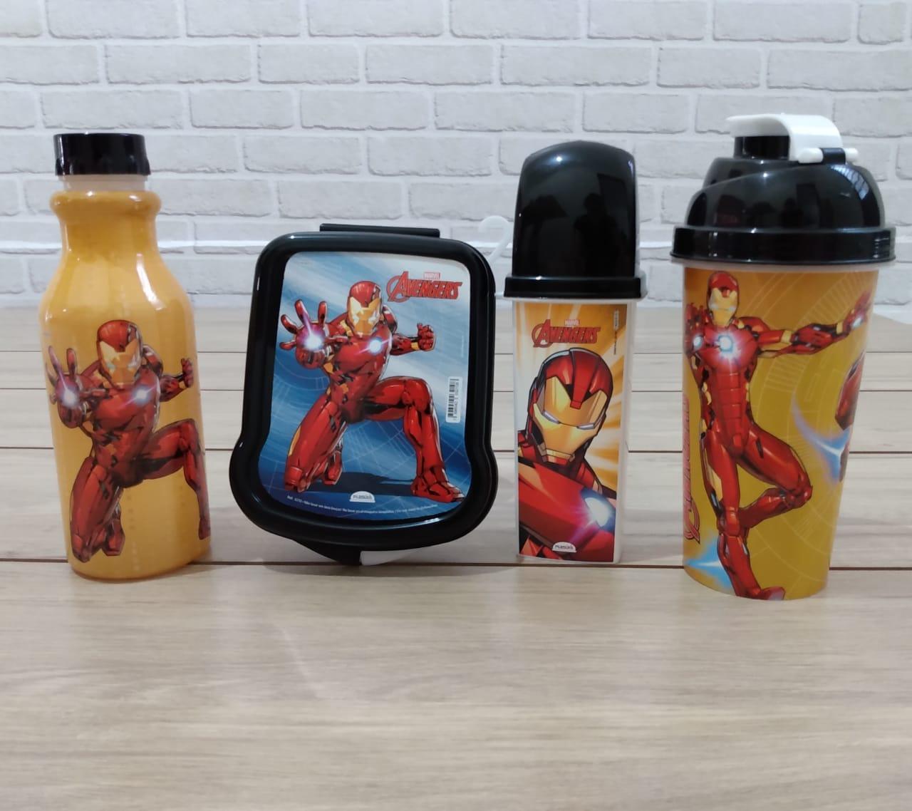Kit Utilidades Homem de Ferro Vingadores Avengers