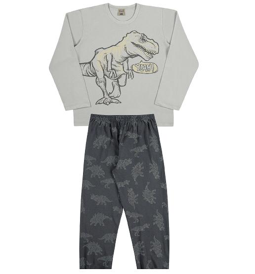 Pijama Infantil Menino Dinossauro