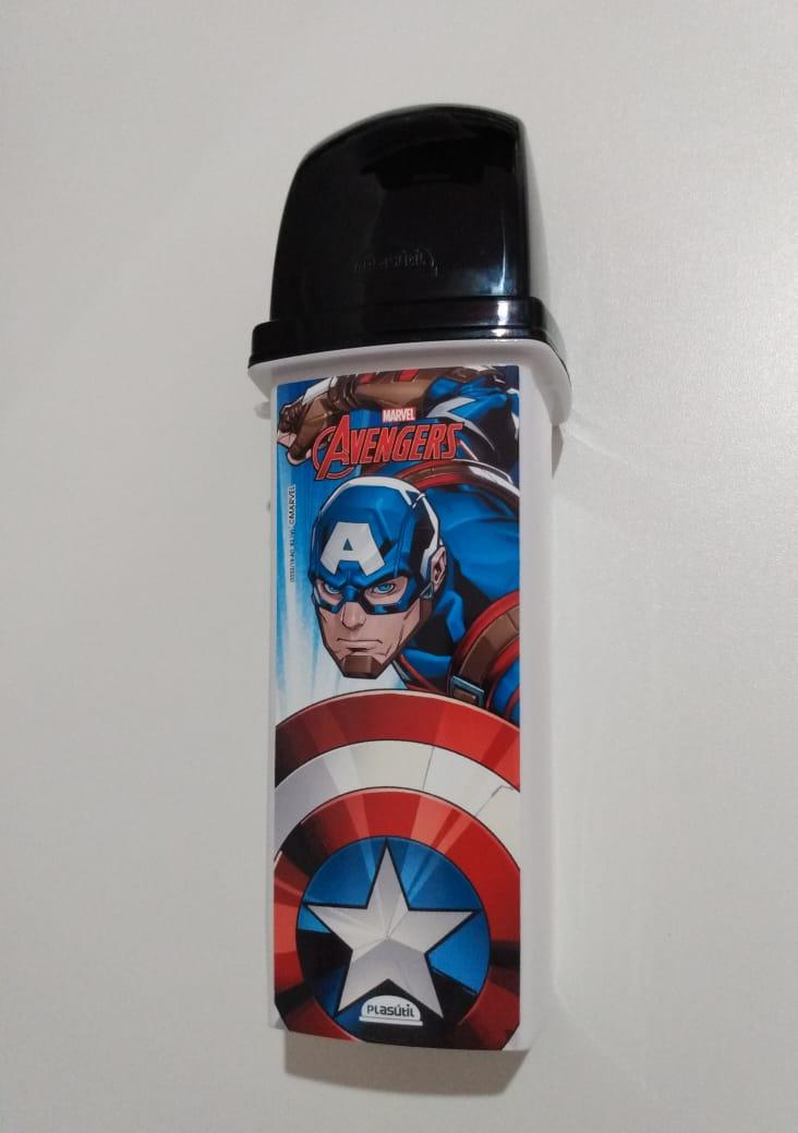 Porta Escovas de Dente do Capitão América Vingadores Avengers