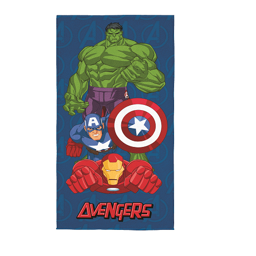Toalha Aveludada Avengers