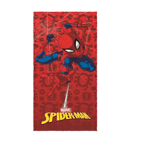 Toalha de Banho Felpuda Homem-Aranha Spiderman