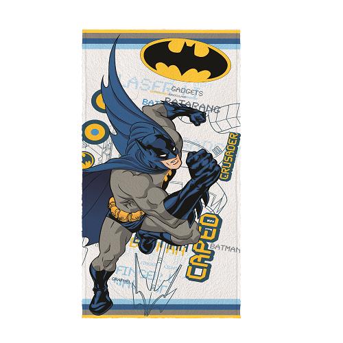 Toalha de Banho Infantil Batman Lida da Justiça