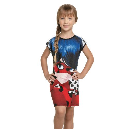 Vestido Infantil Miraculous Ladybug Tam 8